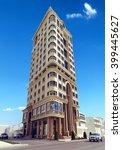 3d rendering   classic tower  ...   Shutterstock . vector #399445627