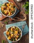 homemade quinoa tofu bowl with...