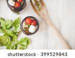 caprese salad    Shutterstock . vector #399529843