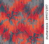tropical jungle foliage pattern ... | Shutterstock .eps vector #399571597
