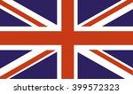 uk flag | Shutterstock .eps vector #399572323