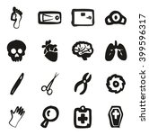 Morgue Icons Freehand Fill