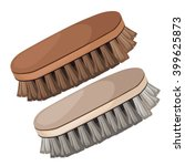 A Set Of Brushes For Clothes...