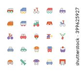 transport vector icon  | Shutterstock .eps vector #399625927