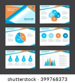 business layouts presentation... | Shutterstock .eps vector #399768373