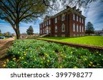 Small photo of Gardens and the Tatnall Building in Dover, Delaware.