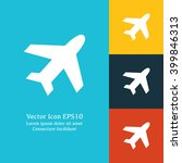vector illustration of plane...