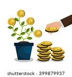 funding concept design  | Shutterstock .eps vector #399879937