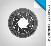 camera icon design    Shutterstock .eps vector #399884173