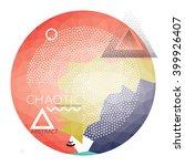 abstract geometric design   Shutterstock .eps vector #399926407