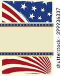 american nice background flag.... | Shutterstock .eps vector #399936337