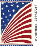 american vintage flag. american ... | Shutterstock .eps vector #399937267