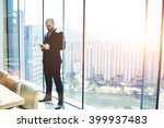 businessman is searching... | Shutterstock . vector #399937483