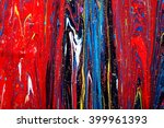 closeup view of an original... | Shutterstock . vector #399961393