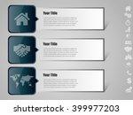 vector infographic design... | Shutterstock .eps vector #399977203