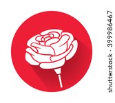 a rose flower | Shutterstock .eps vector #399986467
