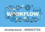 modern thin line design concept ... | Shutterstock .eps vector #400002703