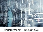 industrial machinery  abstract... | Shutterstock . vector #400004563