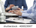 business people in the office | Shutterstock . vector #400023007