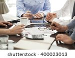 business people in the office | Shutterstock . vector #400023013