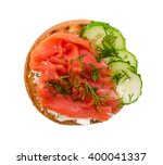 Small Sandwich With Salmon And...