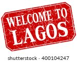 welcome to lagos red square... | Shutterstock .eps vector #400104247