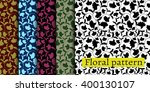 seamlessly floral pattern...