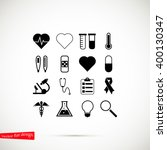 medical icons | Shutterstock .eps vector #400130347