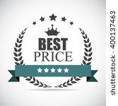 best price label illustration  | Shutterstock . vector #400137463