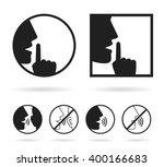Silence Set Icon