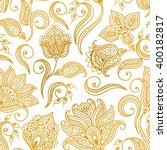 vector illustration of golden... | Shutterstock .eps vector #400182817