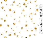 polka dots seamless pattern.... | Shutterstock .eps vector #400193377