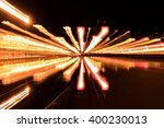 abstract pattern of city lights ... | Shutterstock . vector #400230013