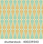 abstract geometric floral... | Shutterstock .eps vector #400239343