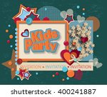 framework for invitation or... | Shutterstock .eps vector #400241887