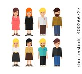 Abstract Vector People Icon....