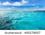 Постер, плакат: Caribbean sea bottom summer