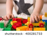 close up of child's hands... | Shutterstock . vector #400281733
