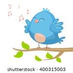 cartoon bird   Shutterstock .eps vector #400315003