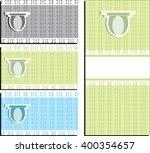 an abstract geometric pattern... | Shutterstock .eps vector #400354657