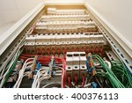 Close Up View Of Electrical...