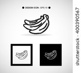 banana icon set great for any...