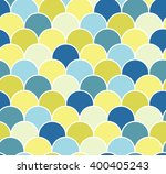 abstract colorful scallop... | Shutterstock .eps vector #400405243
