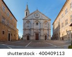pienza  a town  in the val d... | Shutterstock . vector #400409113