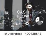 cash flow finance economy... | Shutterstock . vector #400428643
