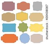 set of banners | Shutterstock .eps vector #400438087