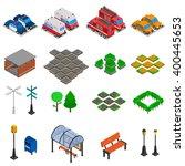 City Infrastructure Isometric...