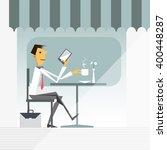 illustration vector of cartoon... | Shutterstock .eps vector #400448287