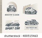 classic cars logo illustrations ...