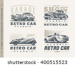 Classic Car Logo Illustrations...